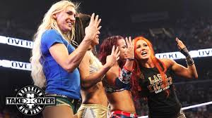 the women of nxt take a curtain call nxt takeover brooklyn only