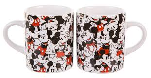 Mickey Mouse Bathroom Accessories Uk by Mickey Mouse Disney Set Of 2 Mini Mugs