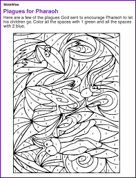 Coloring Pages Of Moses And The Burning Bush