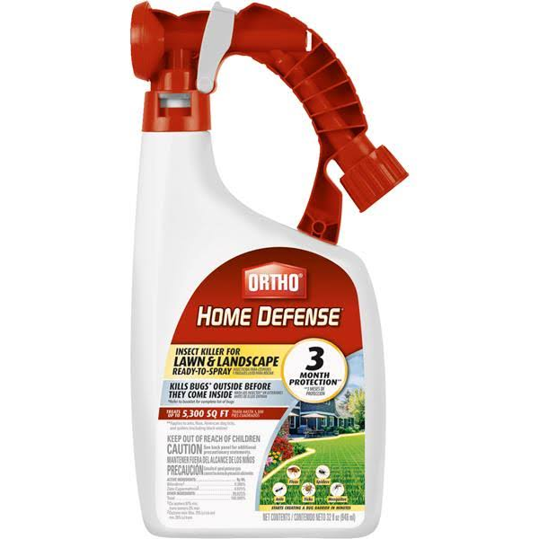 Ortho Home Defense Insect Killer for Lawn Ready To Spray - 32oz
