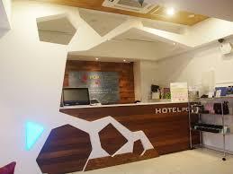 Modern Hotel Reception Desk Window Treatments Bath Designers