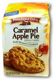 Bisquick Pumpkin Pie Cheesecake by The Holidaze Pepperidge Farm Caramel Apple Cookies
