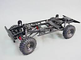 100 Truck Chassis RC New Land Rover Defender 110 TRUCK D110 CHASSIS Metal Custom