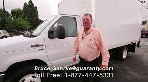 100 Guaranty Used Trucks 2014 Ford Econoline 1Ton Commercial Box Truck Carscom