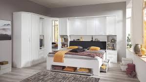 schlafzimmer mainau 5 tlg weiß spiegel bettbrücke 180x200