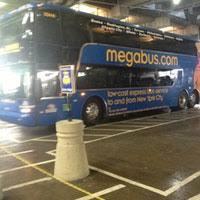 Megabus Bathroom Double Decker by Megabus Stop Washington Dc Bus Station In Washington