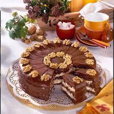 schoko walnuss torte