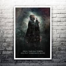 Lord Voldemort Harry Potter FilmPoster Druck Etsy