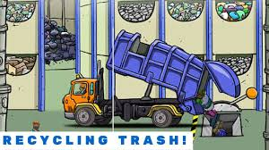 Recycling Trash With The Garbage Truck! | Garbage Trucks | Pinterest ...