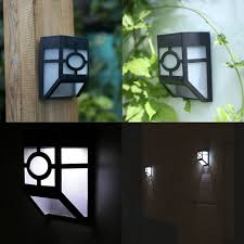 retro warm light wall light solar powered wall mount led