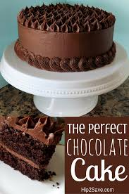 Easy Chocolate Cake From Scratch YUM