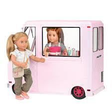 USD 41847 American OG Our Generation Season Doll Ice Cream Truck