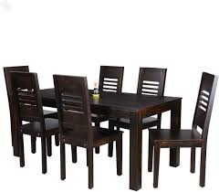 Buy Royal Oak Jade Solid Wood Dining Set(Finish Color - Dark ...