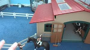 Schleich Barn Tour - YouTube Sleich Horse Stable Figures Amazon Canada Buckthorn Stables Blog Club Riding Centre Here Come The Girls My Little L Review Large Farm With Animals Accsories How To Make Your Breyer Barn Stalls Realistic Cws Studio 27 Best Sleich Barn Images On Pinterest Bagel Children And Collecta Model Horses Flickr Amazoncom Toys Games Portable With Amazoncouk Life Accessory Set Toy Stall I Made For My Girls Things Tour2017 Daisy Youtube