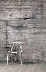 tapeten betonoptik stylique