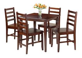 Amazon.com - Winsome Kingsgate 5-Piece Dining Table With 4 ...