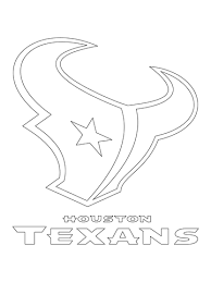 Houston Texans Logo Coloring Page From NFL Category Select 24795 Printable Crafts Of Cartoons