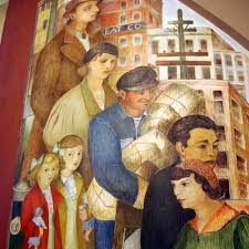 san francisco s coit tower murals department of everyday
