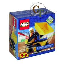 100 Lego City Dump Truck LEGO 6470 Mini Center