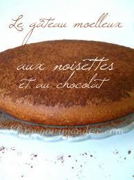 gâteau moelleux aux noisettes et au chocolat recette