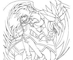 Yugioh Gx Coloring Pages