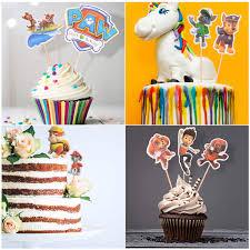 partyspiele aktivitäten 36 stück cupcake deko mario
