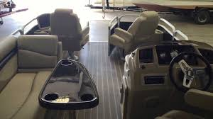Pontoon Boat Teak Vinyl Flooring by 2015 New Bennington 22 Sf Youtube