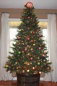 Christmas Tree Bead Garland
