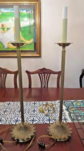 Brass Candlestick Buffet Lamps by Frederick Cooper Lamp For Sale Classifieds