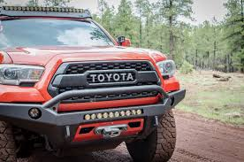 Close Up Of Our T3 2016+ Toyota Tacoma Front Bumper. | 2016+ Toyota ... 2018 Toyota Tacoma Accsories Youtube For Toyota Truck Accsories Near Me Tacoma Advantage Truck 22802 Rzatop Trifold Tonneau Cover Are Fiberglass Caps Cap World 2017redtoyotamalerichetcover Topperking Bakflip F1 Autoeqca Cadian Dodge 2016 Beautiful Blacked Out Trd Grill On Toyota Double Cab Specs Photos 2011 2012 2013 2014 Bed Upcoming Cars 20