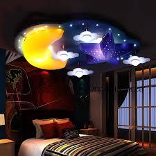 kinder zimmer le mädchen schlafzimmer decke le kreative prinzessin zimmer sterne mond persönlichkeit junge le freies verschiffen