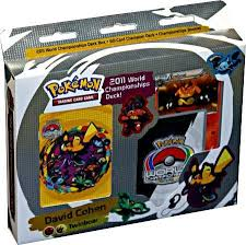 2011 pokemon card world chionships twinboar deck david cohen