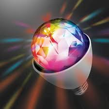 Menards Small Lamp Shades sharper image party disco rotating light bulb at menards