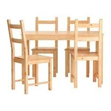 INGO IVAR Table And 4 Chairs IKEA Ikea Dining