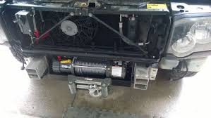 100 Truck Bed Winch Mount Discovery II 2003 Hidden Winch Mount Install Land Rover Forums