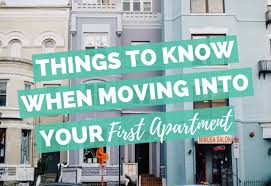 Moving Is Always Stressful But Into Your First Apartment Makes Things Especially Young People Or Even Older Who Have Never Lived