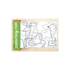 Mini Rollo Para Colorear Animales Del Mundo