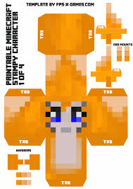 Stampy Cat Large Minecraft Printable Character Of For Coloring Pages