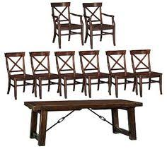 Pottery Barn Aaron Chair Espresso by Fixer Upper A Very Special House In The Country Rustic Coat