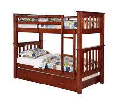 Low To The Ground Bunk Beds by Berkley Jensen Twin Size Bunk Bed With Trundle Bj U0027s Wholesale Club