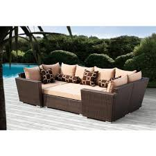 Outdoor Sectional Sofa Canada sirio bethany 6pc seating set 860496 home depot canada