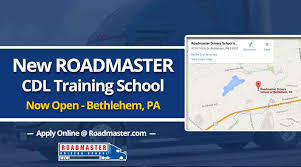 NEW Roadmaster CDL Training School NOW OPEN In Bethlehem, PA ... Truck Driving Roadmaster School New Cdl Traing School Now Open In Bethlehem Pa Reyna Driver Traing 1309 Callaghan Rd San Antonio Tx 78228 Video Student Spotlight Meet Bill From Orlando Jose Trucking Modesto Ca Best Resource Review Youtube Much Does Cost Automatic Transmission Semitruck Now Available Swift Application First Day At Fl Schneider