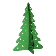 Amazoncom Green Evergreen Tree Cardboard Kit Large 5 Ft 9 Inch