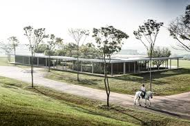 100 Isay Weinfeld Equestrian Centre Clubhouse By Yellowtrace