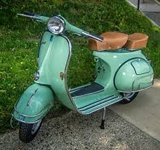 Custom Vintage Vespa Scooters For Sale