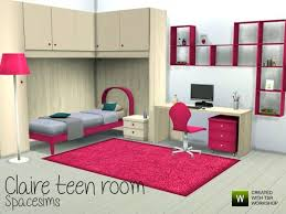 The Sims Resource Claire Teen Room By Spacesim O 4 Downloads