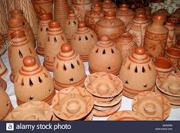 Cute Pottery Handicrafts Made Up Of Pure Natural Clay Coconut Skulls