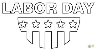Labor Day Popular Coloring Pages Free Printable
