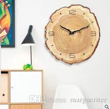 großhandel kreative wanduhr wohnzimmer einfache moderne stille jährliche ring dekorative wanduhren schlafzimmer kunst design uhr margueriter