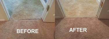 carpet to vinyl transition carpet